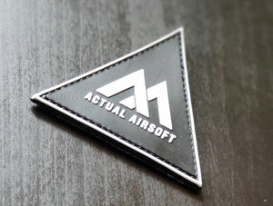 Actual Airsoft Team patch /W stickers