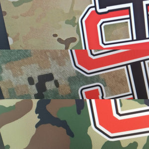 Stretch Tactical US CAMO stickers
