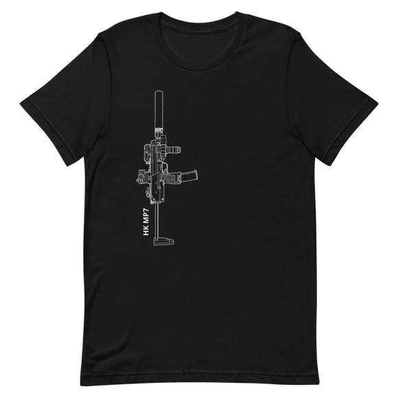 NSW/Devgru Inspired MP7 build X Ray tee No Text