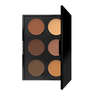6 Well Cream Contour Palette