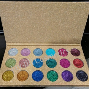 Diamond Pressed Glitter Palette