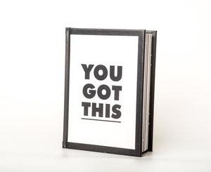 You Got This - A Decorative Book