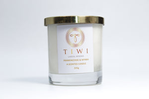 TIWI Frankincense & Myrrh - A Scented Candle - TIWI Home Fragrance