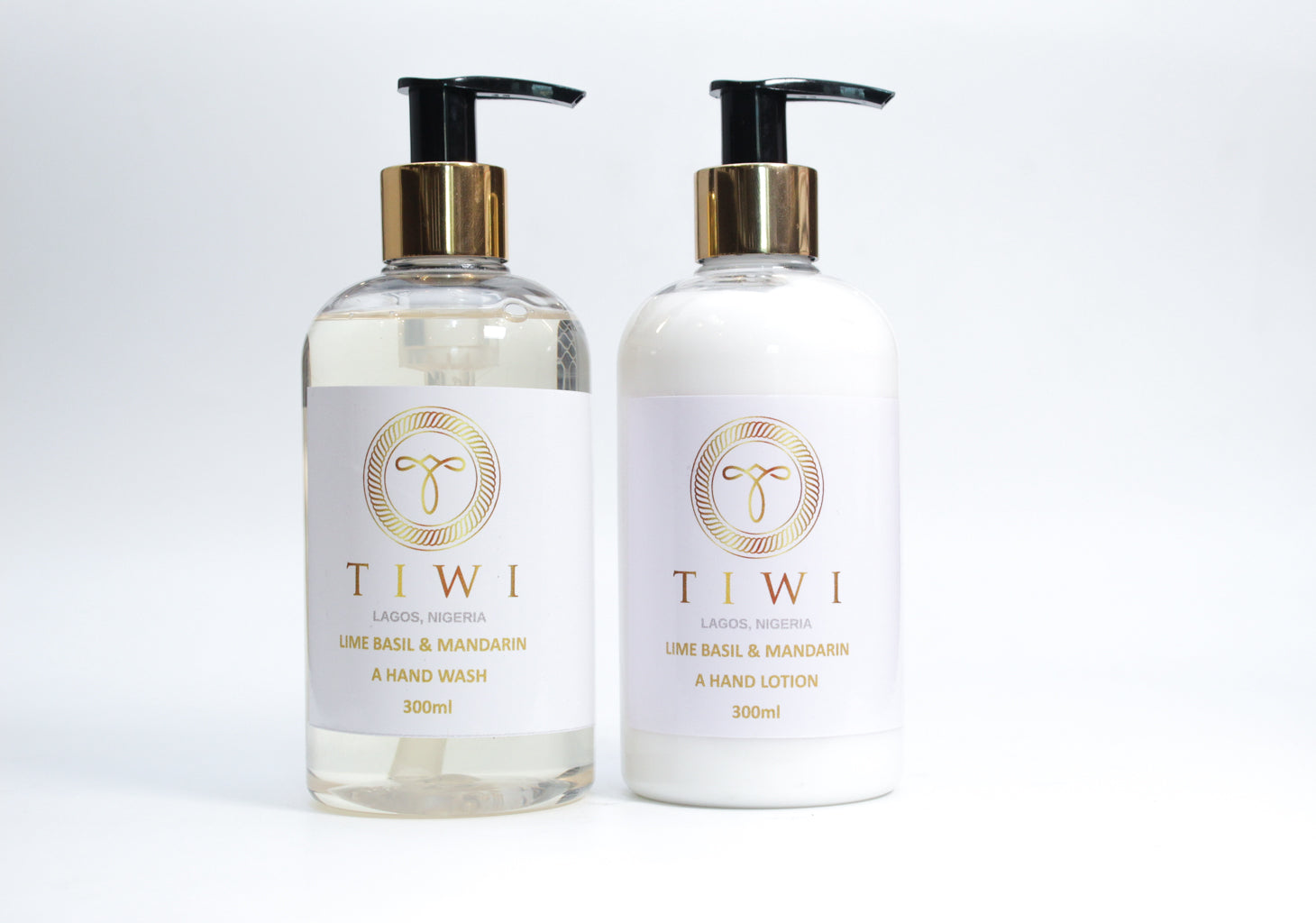 TIWI Lime Basil & Mandarin Hand Wash & Hand Lotion Set - TIWI Home Fragrance