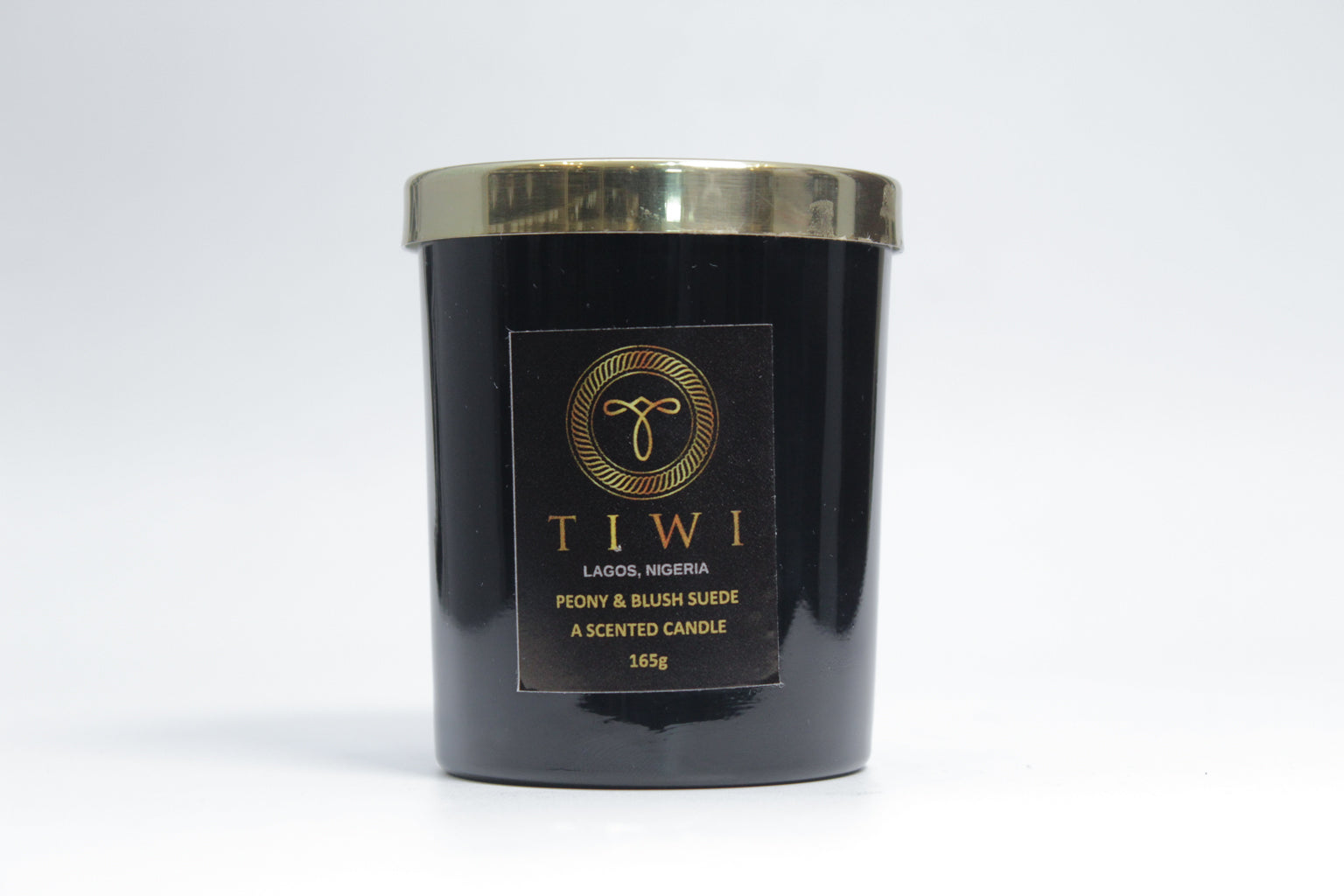 TIWI Peony & Blush Suede - A Scented Candle - TIWI Home Fragrance