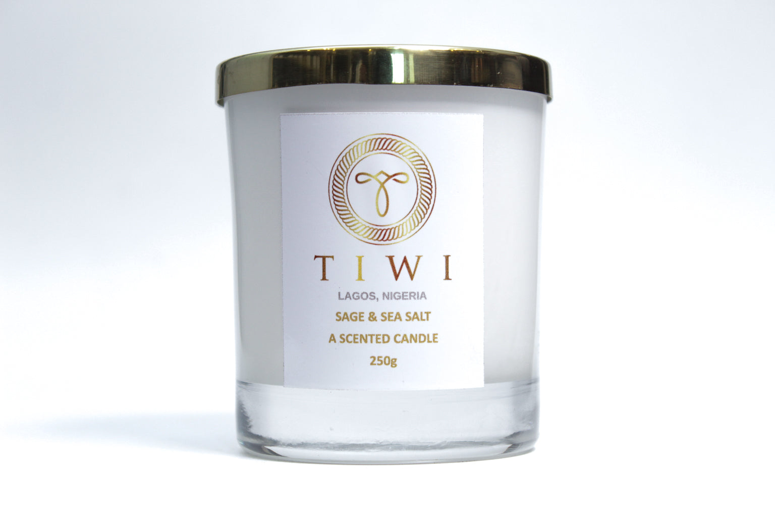 TIWI Sage & Sea Salt - A Scented Candle