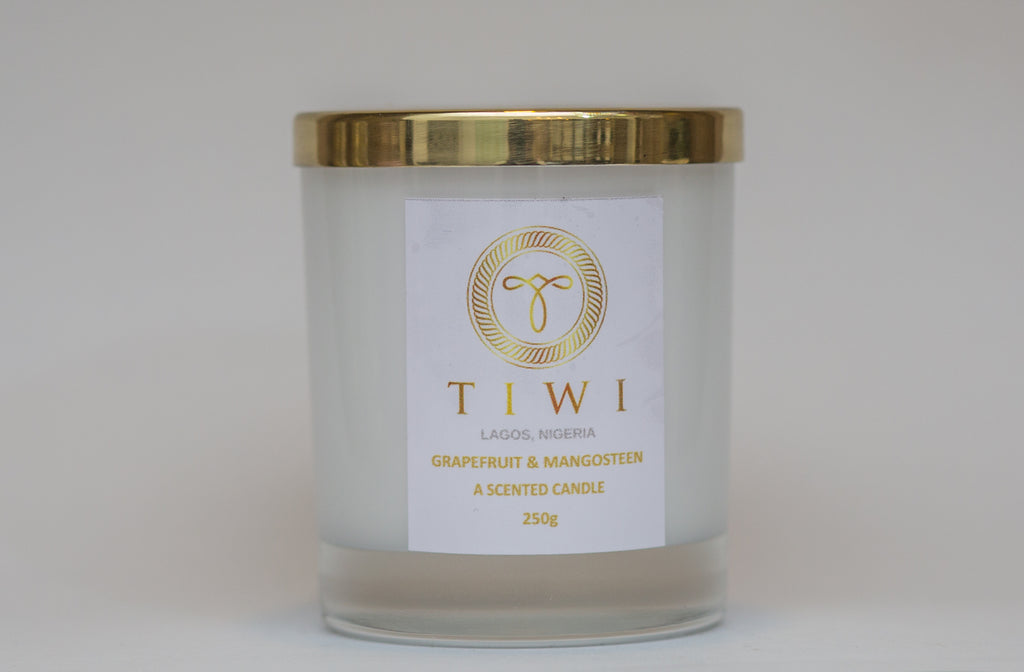 TIWI Grapefruit & Mangosteen - A Scented Candle