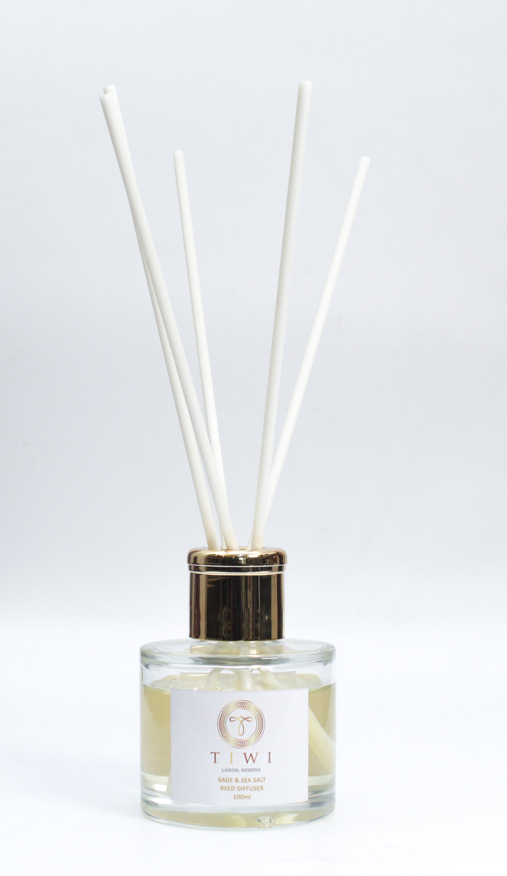TIWI Sea Salt & Orchids Reed Diffuser - TIWI Home Fragrance