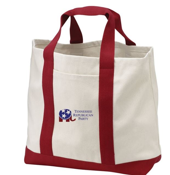 Port Authority - Two-Tone Shopping Tote