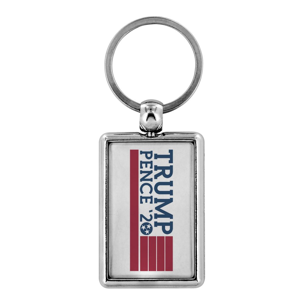 Trump Pence '20 Tennessee Flag - Key Chain