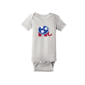 Rabbit Skins Infant Short Sleeve Baby Rib Bodysuit