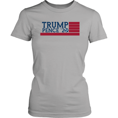 Trump Pence '20 Tennessee Flag - Womens Shirt