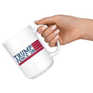 Trump Pence '20 Tennessee Flag - 15oz Mug