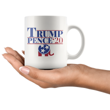Load image into Gallery viewer, Trump Pence '20 - 11oz Mug