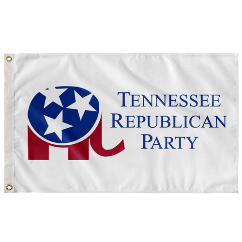 Tennessee Republican Party Flag - 5FT x 3FT