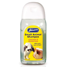 Load image into Gallery viewer, Johnsons Small Animal Rabbit Cleansing Shampoo 125Ml