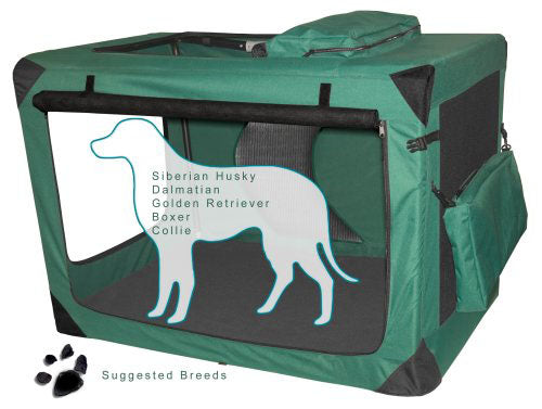 Pet Folding Canvas Transport Crate