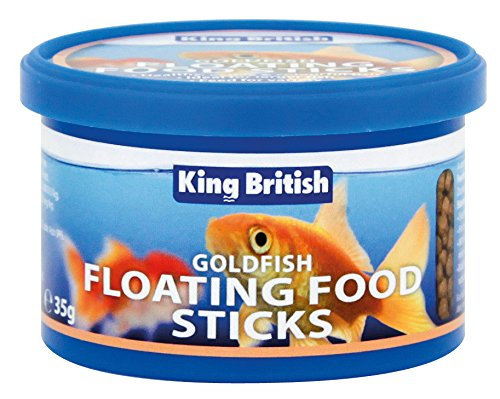 King British Goldfish Floating Food Pellets Complete For Cold Water Fish 35G