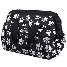 Load image into Gallery viewer, Wahl Paw Print Pet Dog Cat Grooming Bag To Store All Your Grooming Tools In One Place