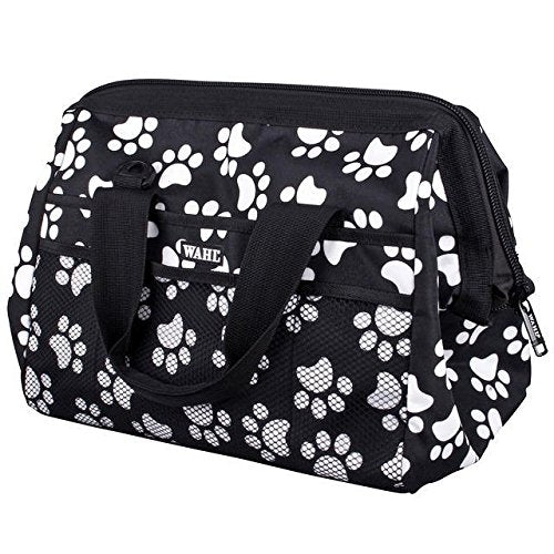 Wahl Paw Print Pet Dog Cat Grooming Bag To Store All Your Grooming Tools In One Place