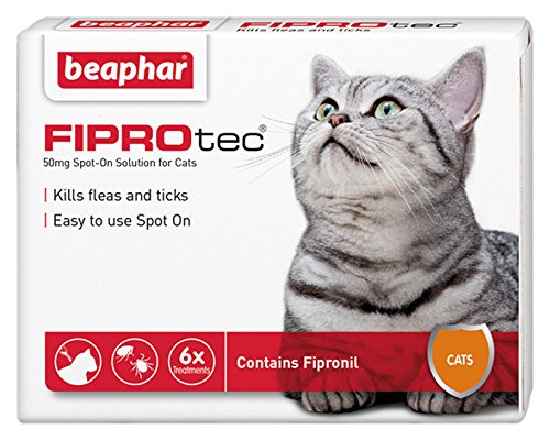 Beaphar Fiprotec Spot On Solution For Cats (6 Treatments)