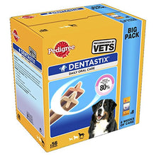 Load image into Gallery viewer, Pedigree Dentastix Daily Oral Care Dental Chews, Large Dog 56 Sticks, Pack Of 1