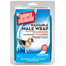 Load image into Gallery viewer, Simple Solution Washable Male Dog Wrap, Medium