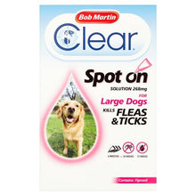 Load image into Gallery viewer, Bob Martinclear Fipronil Spot-On 3 Tubes For Large Dog