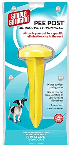 Simple Solutions Dog Pee Post - To Reduce Area Of The Garden Used As A Toilet By Your Dog