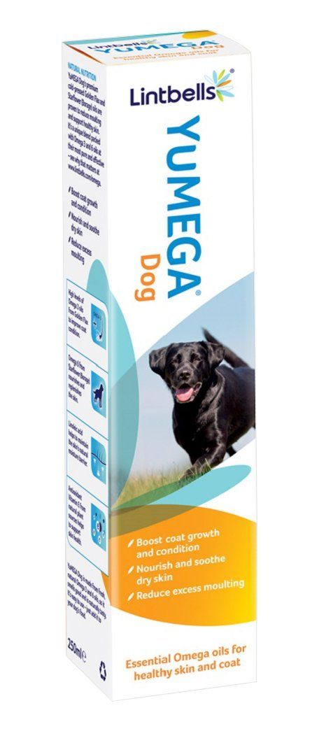 Lintbells Yumega Dog Skin & Coat Supplement (250Ml)