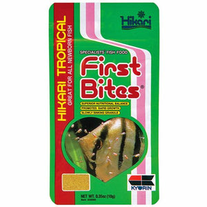 Hikari Tropical First Bites 10G Aquarium Fish/Dry Food