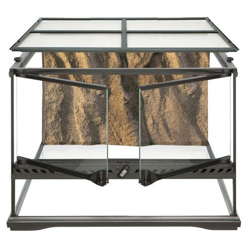 Exo Terra Glass Natural Terrarium, Small/Low, 45 X 45 X 45 Cm