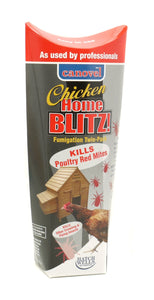 Canovel Home Blitz Chicken Fumigator Killing Poultry Red Mite Twin Pk