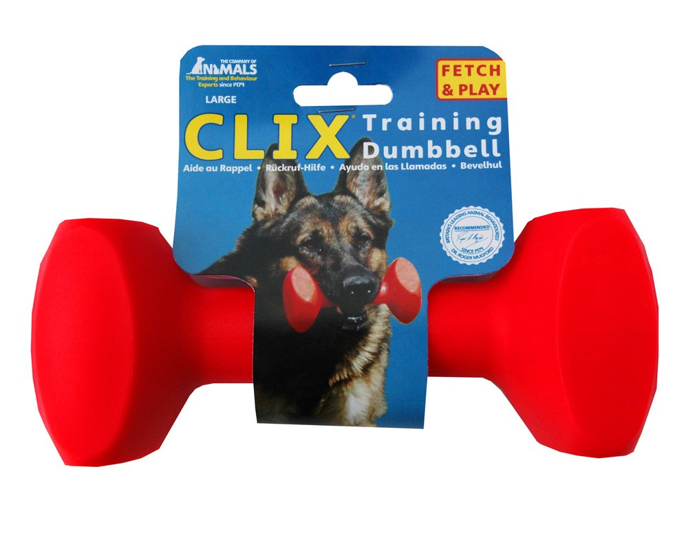 Clix Dumbbell  Dog Toy Large