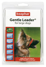 Load image into Gallery viewer, Beaphar Gentle Leader Large Dog Red