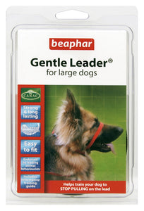 Beaphar Gentle Leader Large Dog Red
