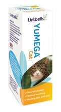 Load image into Gallery viewer, Lintbells Yumega Cat  Supplement - Reduces Moulting And Furballs  50Ml