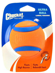 Chuckit Ultra Ball Large 7.3Cm, 1 Per Pack, Ultra Dog Toy