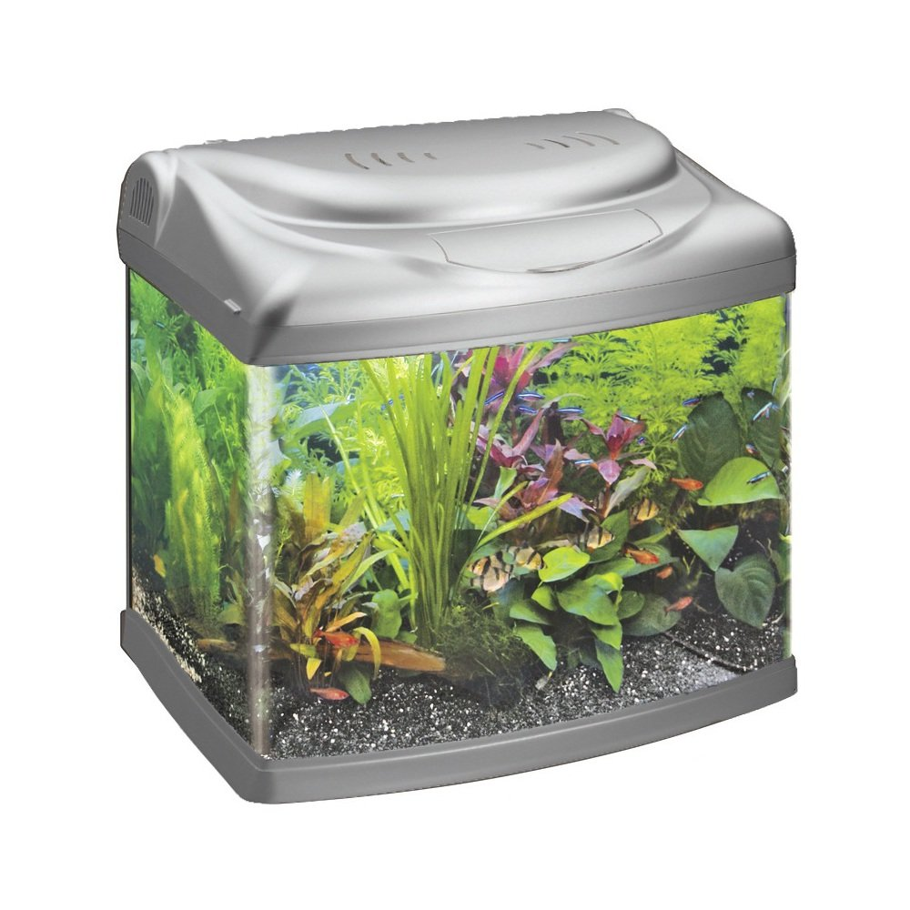 Superfish Aqua 60 Panorama Silver Fish Tank 55L