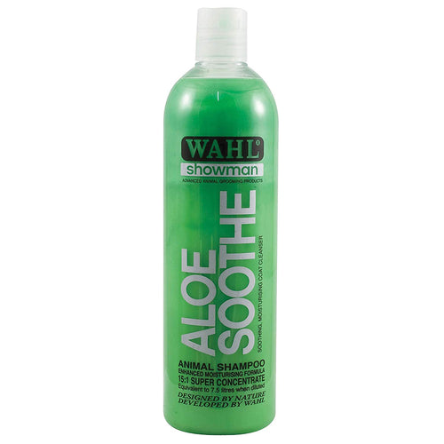 Wahl Aloe Soothe Dog Shampoo 500Ml 560G X 6 Pack