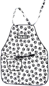 Wahl Paw Print Pet Dog Grooming Apron (Waiste 1400Mm, Width 600Mm, Drop 745Mm)
