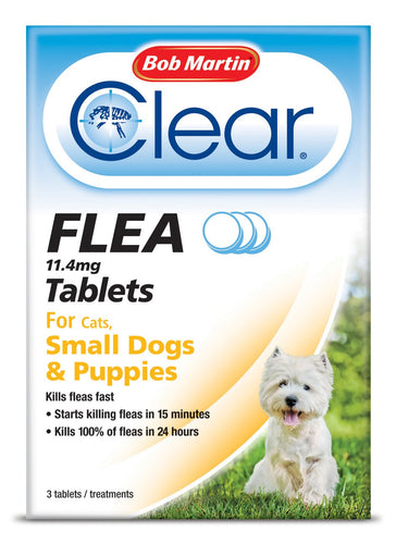 Bob Martin Clear Tablets For Small Dogs And Puppies 3 Tablets