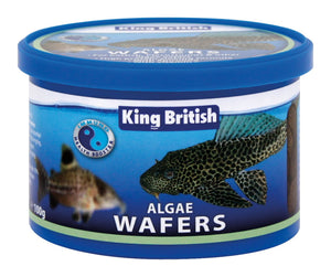 King British Algae Wafersfor Catfish, Plecostomus And Other Algae Eaters (100G)