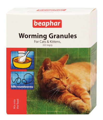 Beaphar Worming Granules For Cats