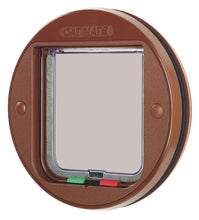 Load image into Gallery viewer, Cat Mate Glass Fitting Cat Door Flap - Brown