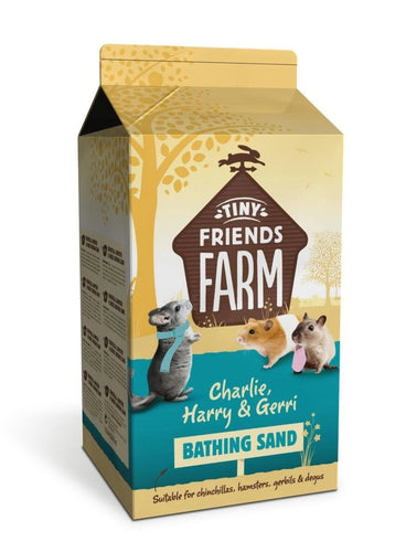 Supreme Petfoods Science Natural Bathing Sand For Chinchillas & Gerbils 1.5 Litre