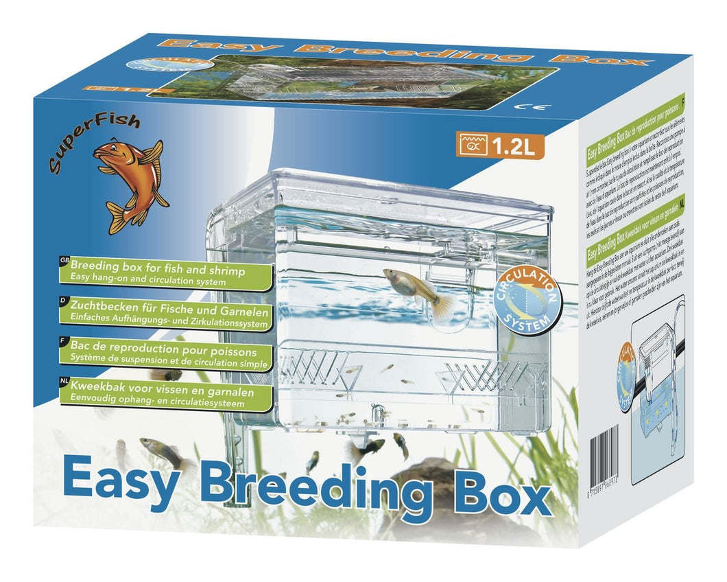 Superfish Easy Breeding Box For Fish And Shrimp In Freshwater And Aquariums 1500G