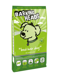 Barking Heads Dog Food Bad Hair Day Lamb And Rice Dry Mix 12Kg
