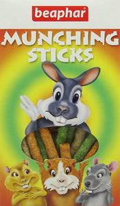 Beaphar Munching Sticks For Small Animals Rabbit 150 G (Pack Of 12)