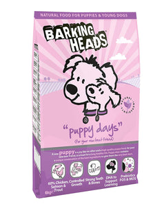 Barking Heads Dog Food Puppy Days Chicken & Salmon 6 Kg